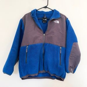 The North Face Jackets & Coats - The North Face Blue Grey Fleece Jacket